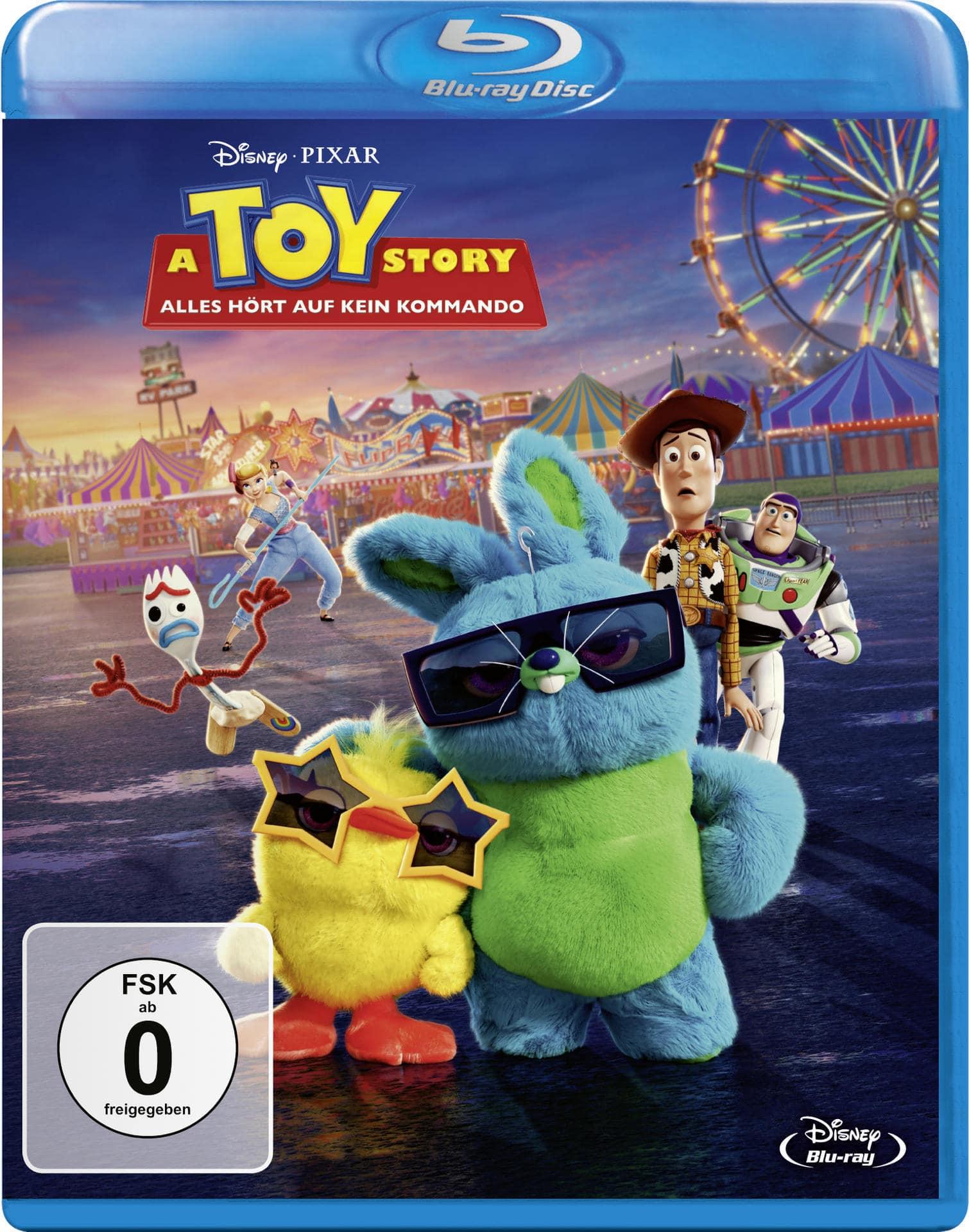 A Toy Story: Alles hört auf kein Kommando (BLU-RAY) für 18,99 Euro