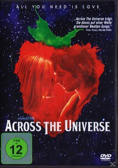 Across The Universe (DVD) für 9,99 Euro