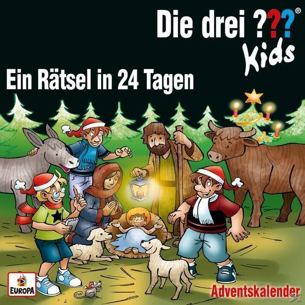 Adventskalender-Ein Rätsel in 24 Tagen (Die Drei ??? Kids) für 13,99 Euro