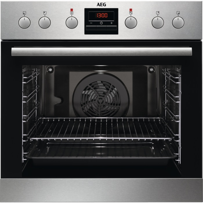 AEG EES33101ZM Backofen 72l A 50-275°C ThermicAir Longclean-Emaille für 454,00 Euro