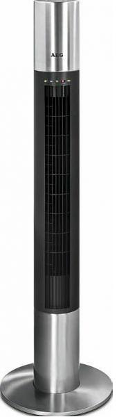AEG T-VL 5537 Edelstahl-Säulen-Ventilator 3 Geschwindigkeitsstufen oszillierend für 129,99 Euro
