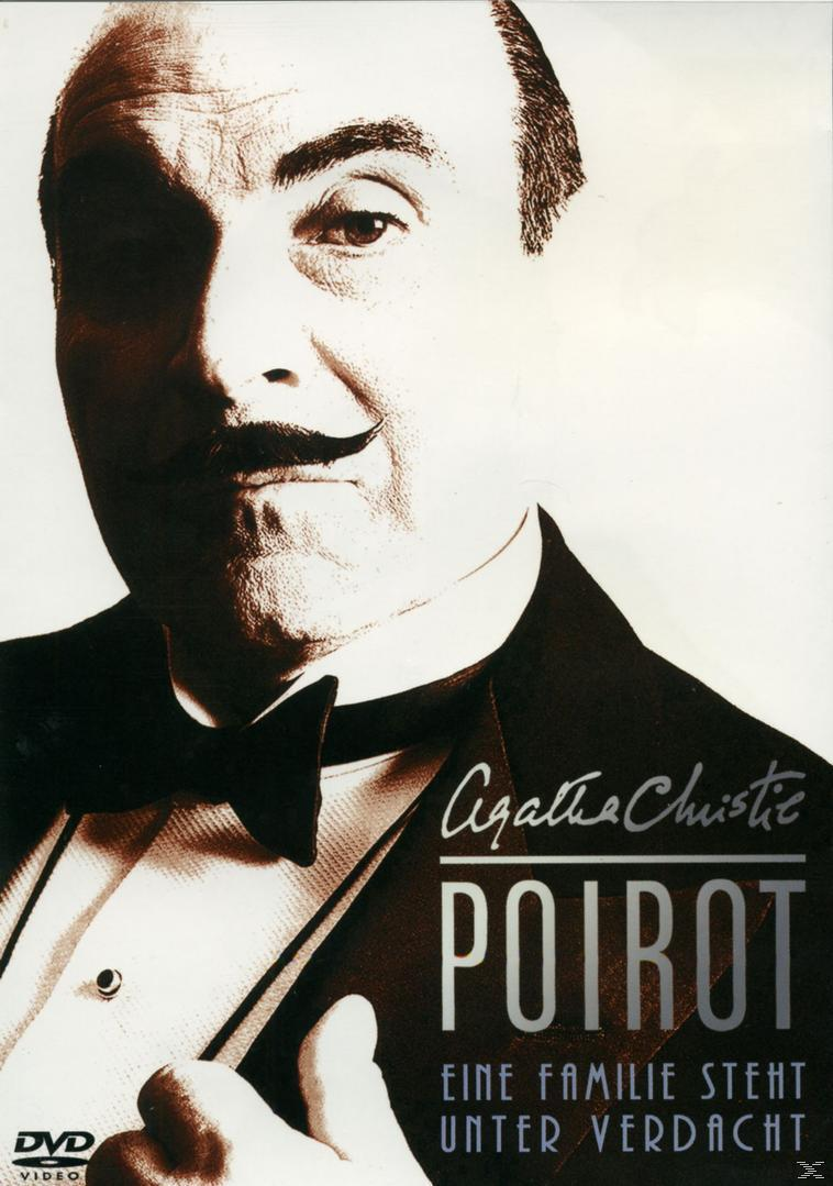 Agatha Christie: Poirot - Eine Familie steht unter Verdacht (DVD) für 9,99 Euro