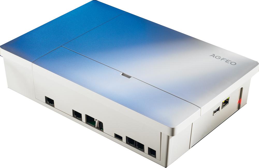 AGFEO ES 512 Telefonanlage 12 Teilnehmer All-IP SmartHome-Steuerung Voicebox für 349,00 Euro