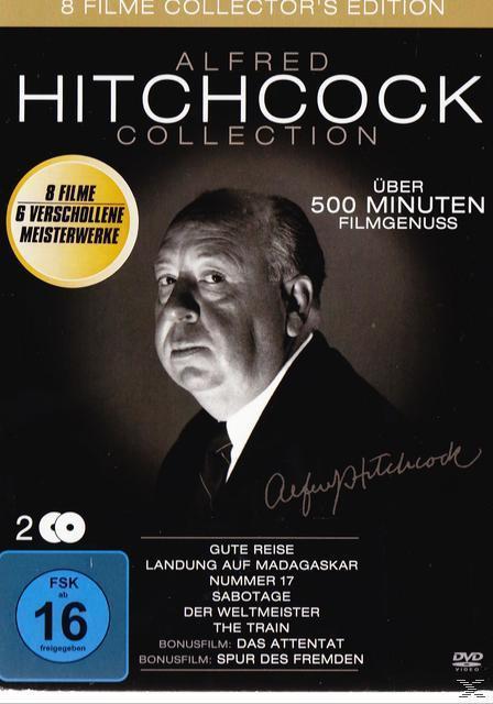Alfred Hitchcock Collection (DVD) für 9,99 Euro