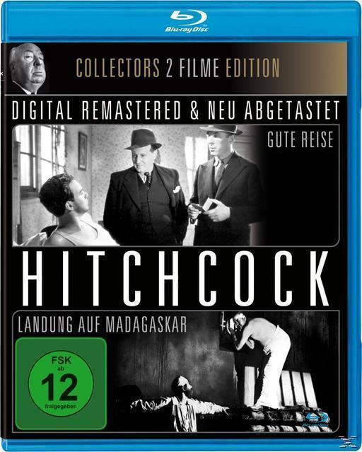 Alfred Hitchcock: Landung auf Madagaskar & Gute Reise (BLU-RAY) für 7,99 Euro