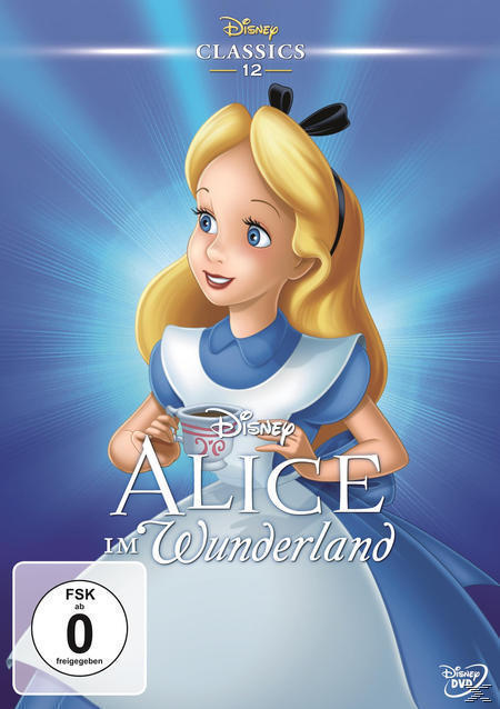 Alice im Wunderland (DVD) für 12,99 Euro