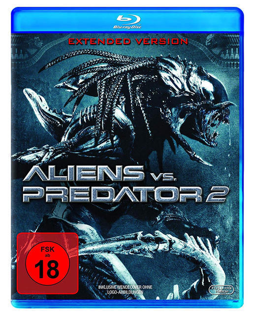 Aliens vs. Predator 2 Extended Version (BLU-RAY) für 9,99 Euro