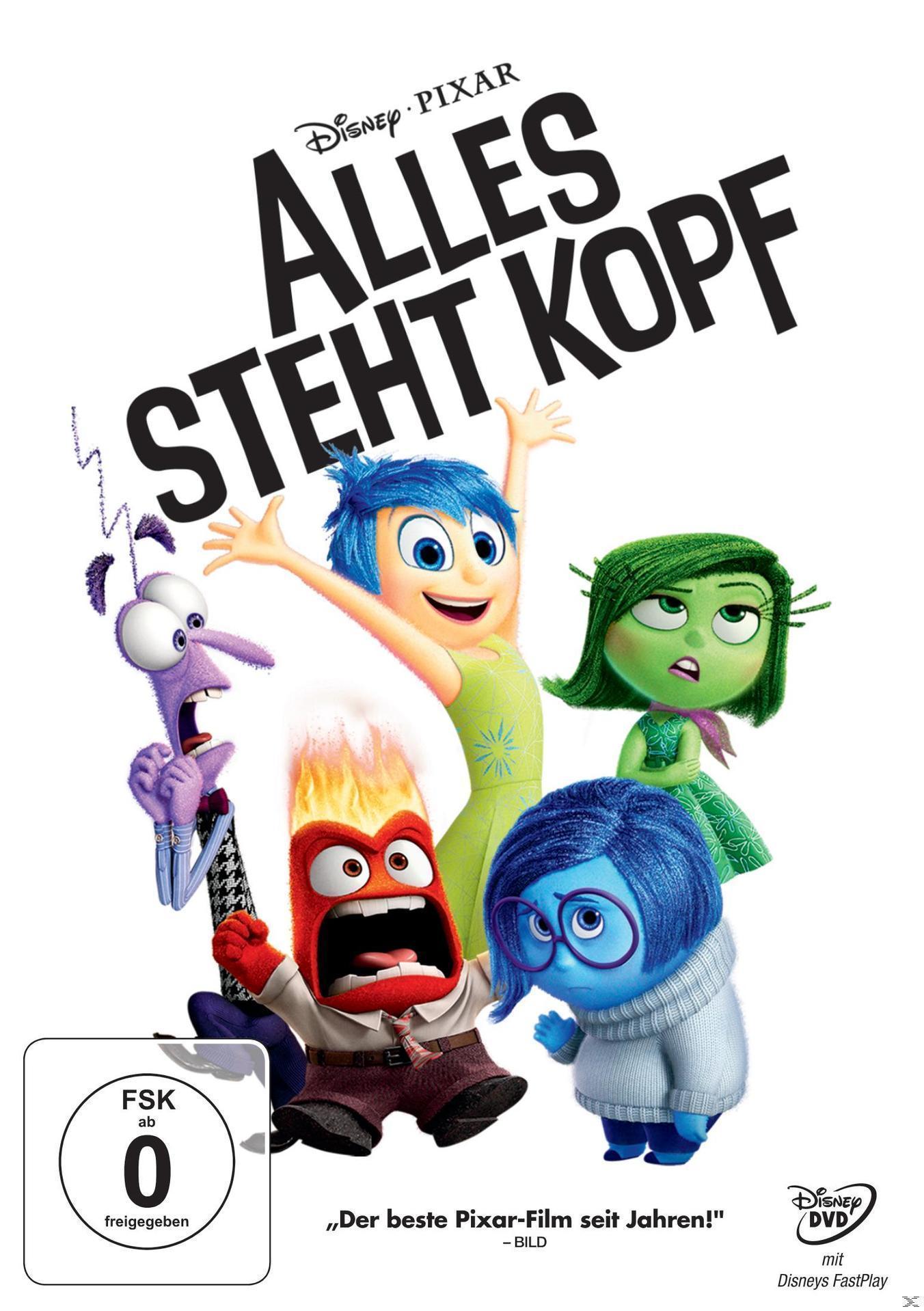 Alles steht Kopf (DVD) für 9,99 Euro