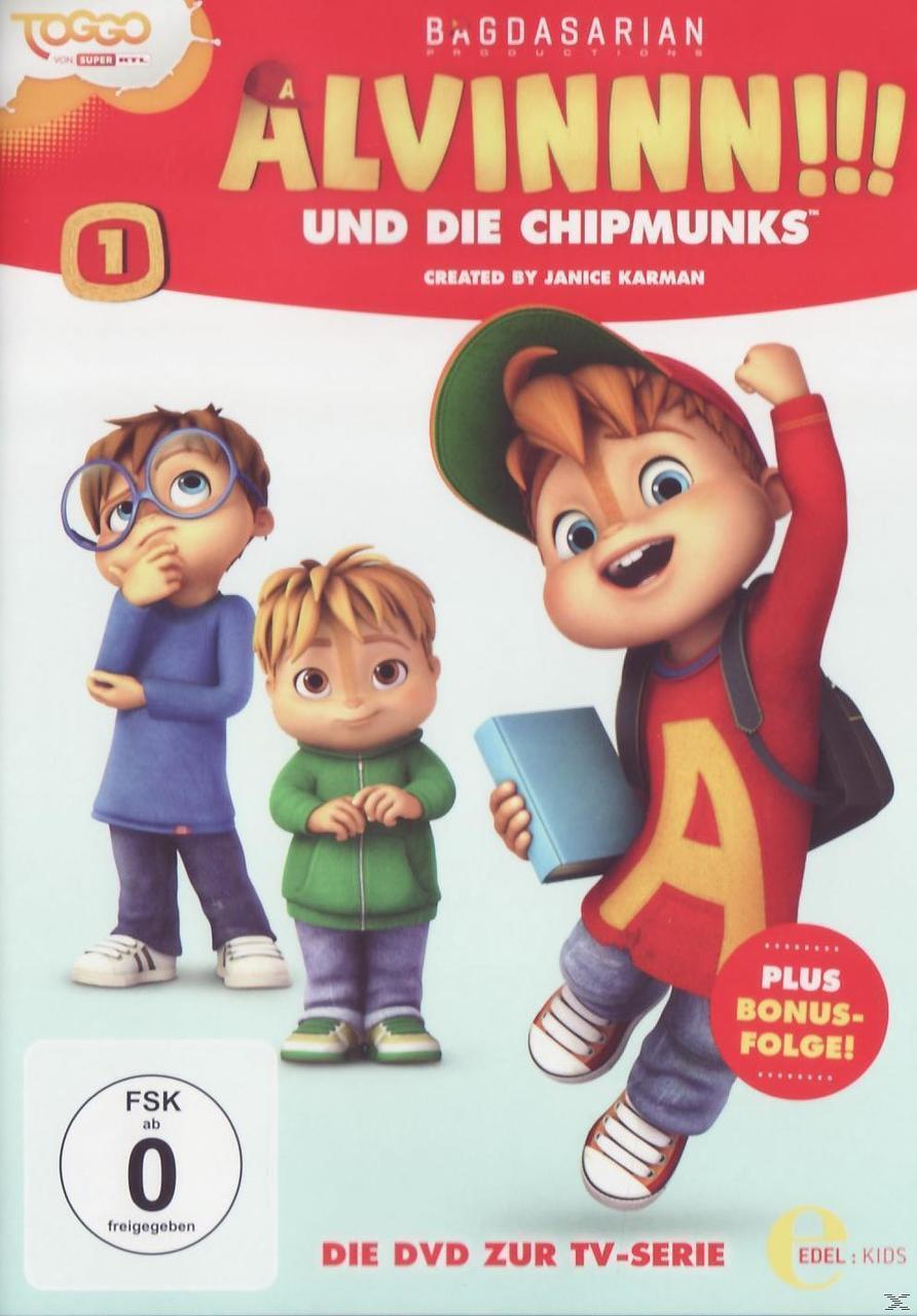 Alvinnn!!! und die Chipmunks - Der magische Geburtstag (DVD) für 7,99 Euro