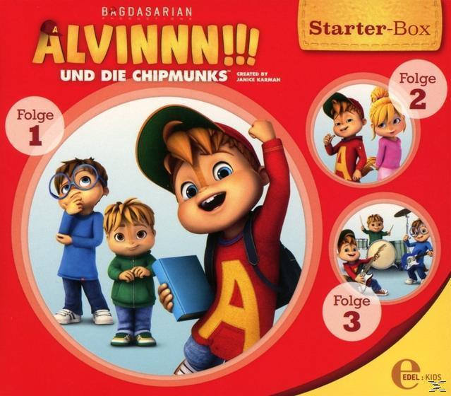 Alvinnn!!! Und die Chipmunks - Starter-Box 1 (CD(s)) für 9,99 Euro