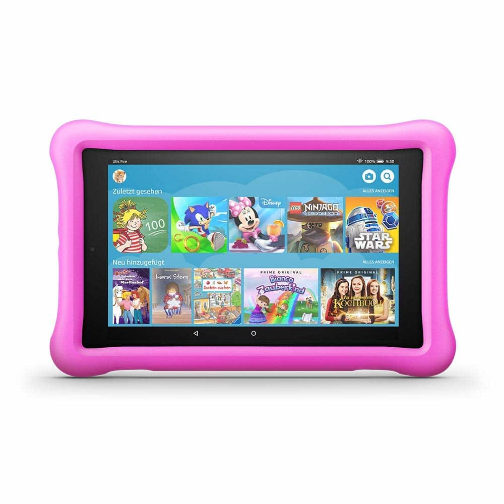 Amazon fire HD 8 Tablet Kids Edition 20,3cm 8 Zoll HD-IPS-Display 32GB 2MP für 121,84 Euro