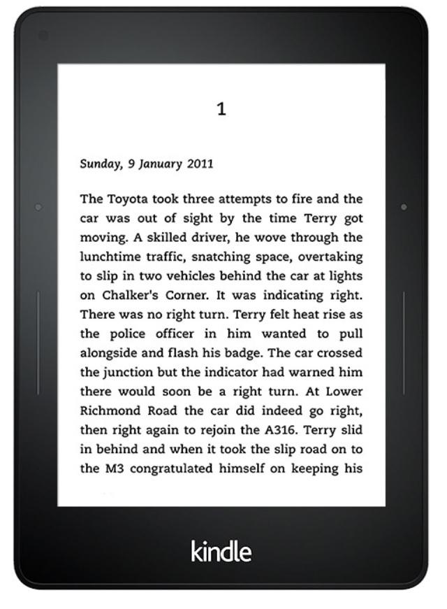 Amazon Kindle Voyage Wifi E-Reader 15,24cm/6'' 4GB integrierte Beleuchtung für 189,00 Euro