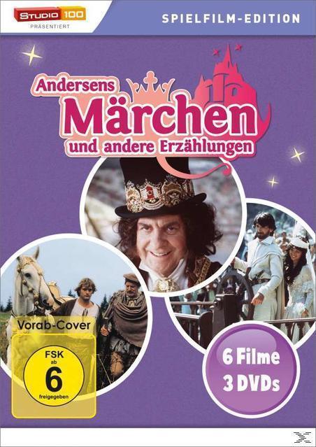 Andersens Märchen und andere Erzählungen DVD-Box (DVD) für 14,99 Euro