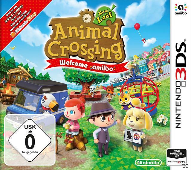 Animal Crossing: New Leaf - Welcome amiibo (Nintendo 3DS) für 39,00 Euro
