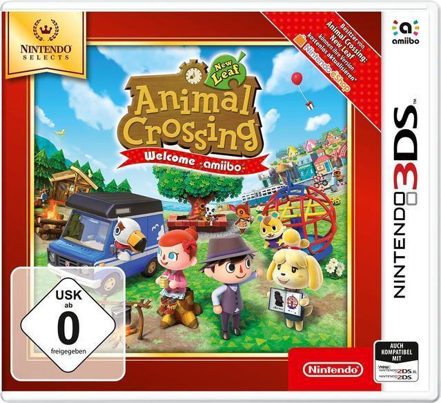 Animal Crossing: New Leaf - Welcome amiibo (Nintendo Selects) (Nintendo 3DS) für 19,99 Euro