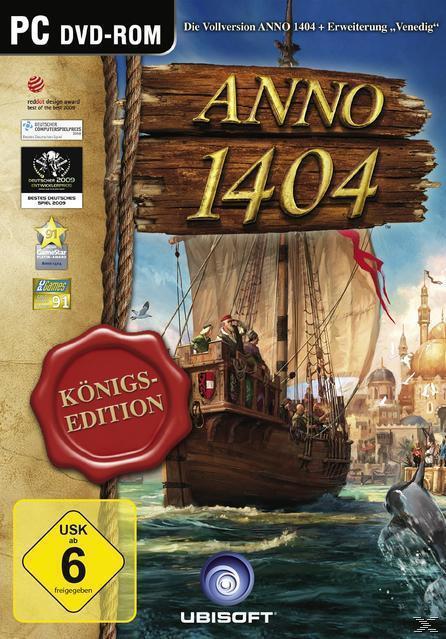 ANNO 1404 Königs-Edition (Software Pyramide) (PC) für 15,00 Euro