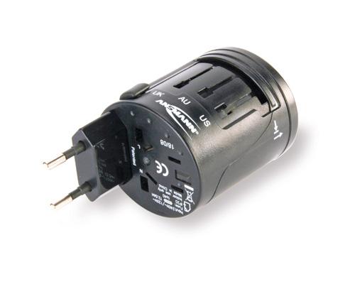 Ansmann All-in-One Travel Adapter für 16,99 Euro