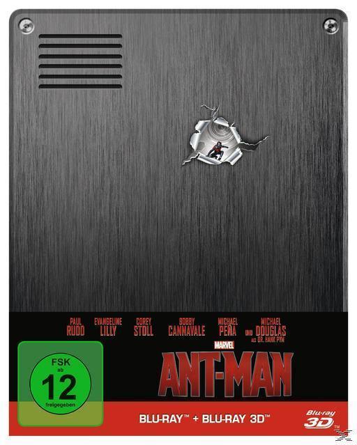 Ant-Man Steelcase Edition (BLU-RAY 3D/2D) für 17,99 Euro