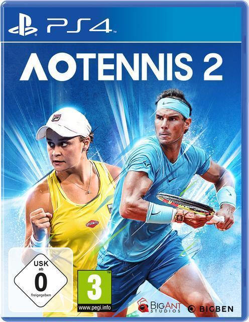 AO Tennis 2 (PlayStation 4) für 39,99 Euro