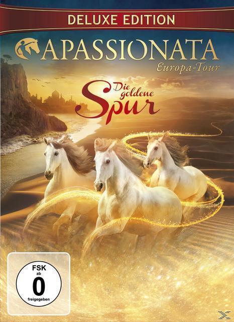 Apassionata - Die goldene Spur - Europa Tour Deluxe Edition (DVD) für 15,99 Euro