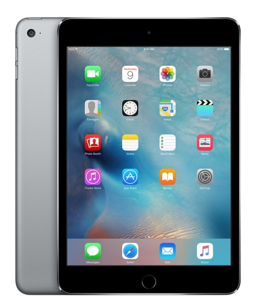 Apple iPad mini 4 MK9N2FD/A 128GB WiFi Tablet 20,1cm 7,9 Zoll iOS9 8MP für 419,00 Euro