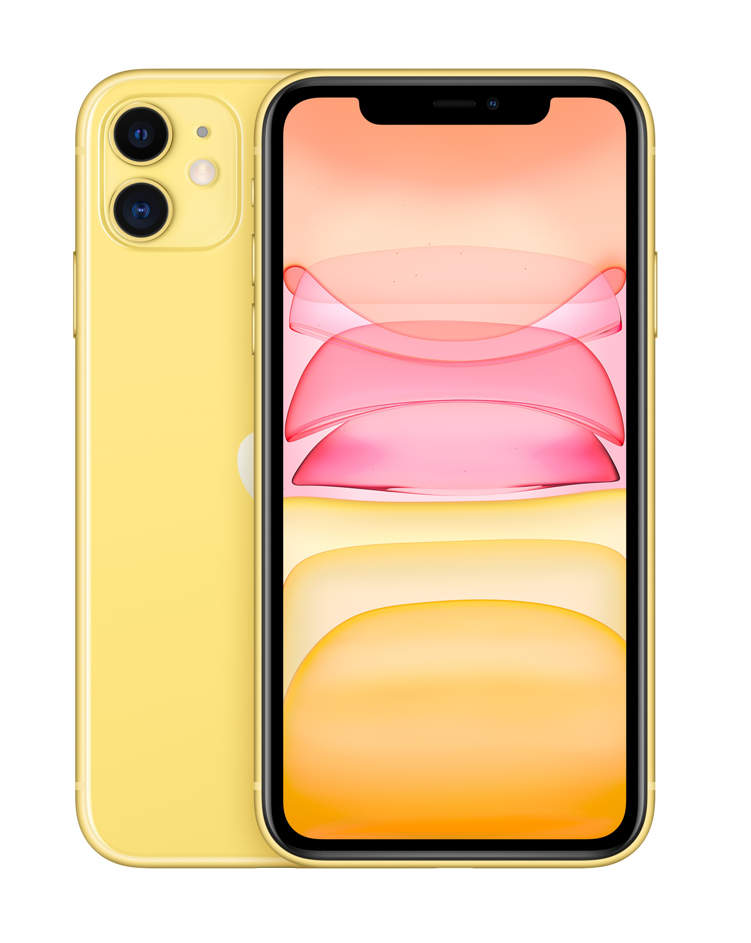 "Apple iPhone 11 Smartphone 15,5cm/6,1"" iOS 12MP 64GB Gelb für 799,00 Euro"