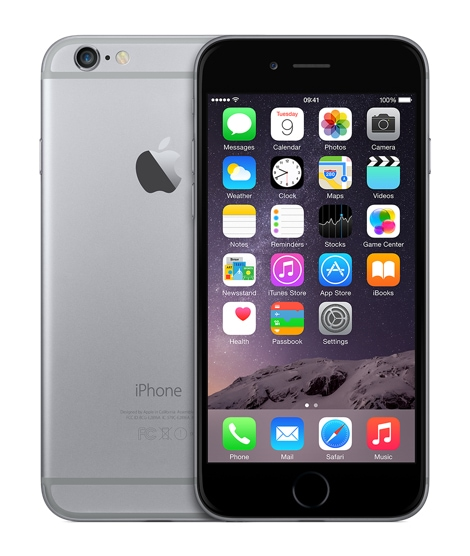 Apple iPhone 6 32GB Smartphone 11,94cm/4,7'' 8MP iOS8 für 319,00 Euro