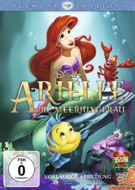 Arielle, die Meerjungfrau Diamond Edition (DVD) für 7,99 Euro