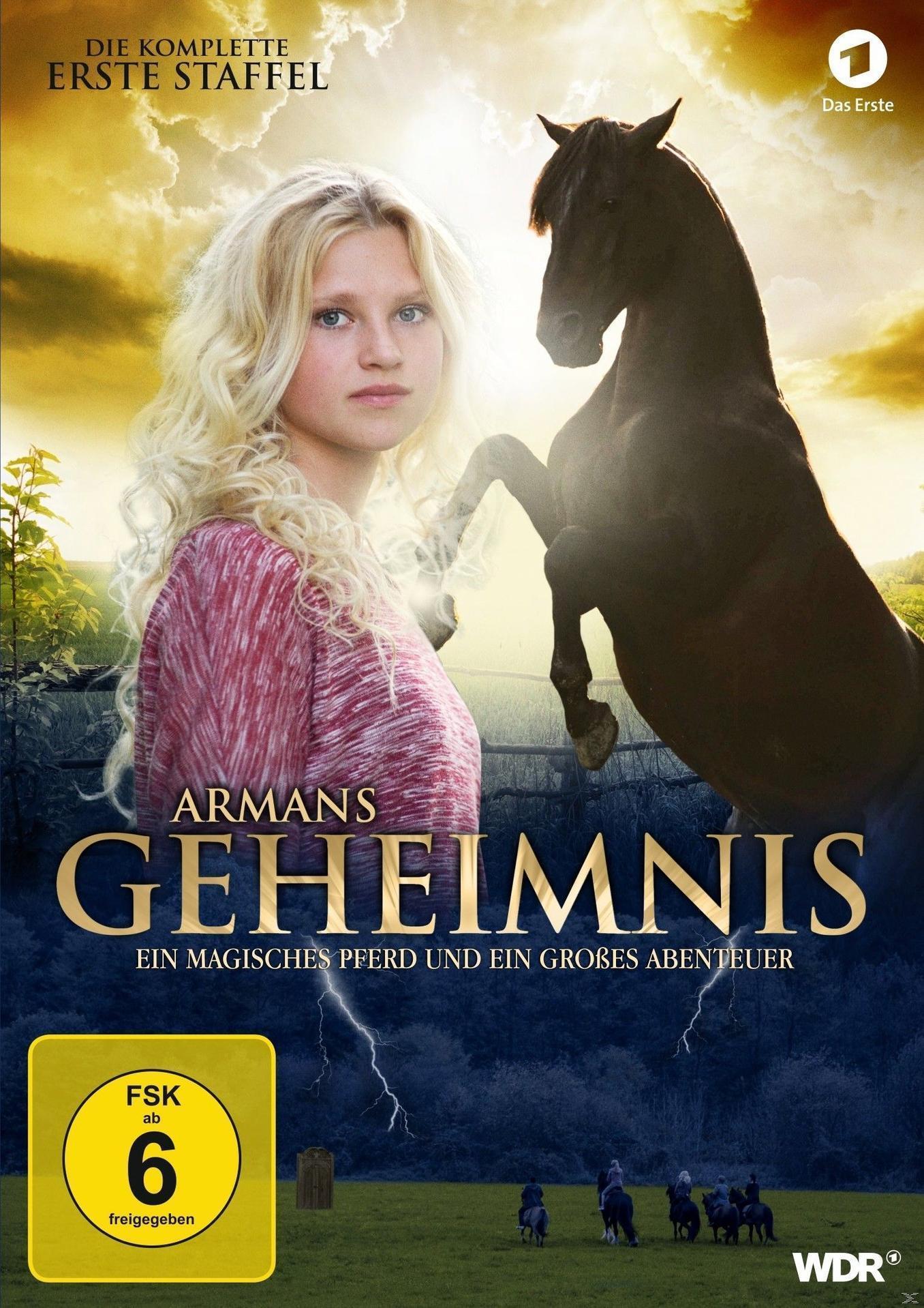 Armans Geheimnis - Die komplette erste Staffel - 2 Disc DVD (DVD) für 19,99 Euro