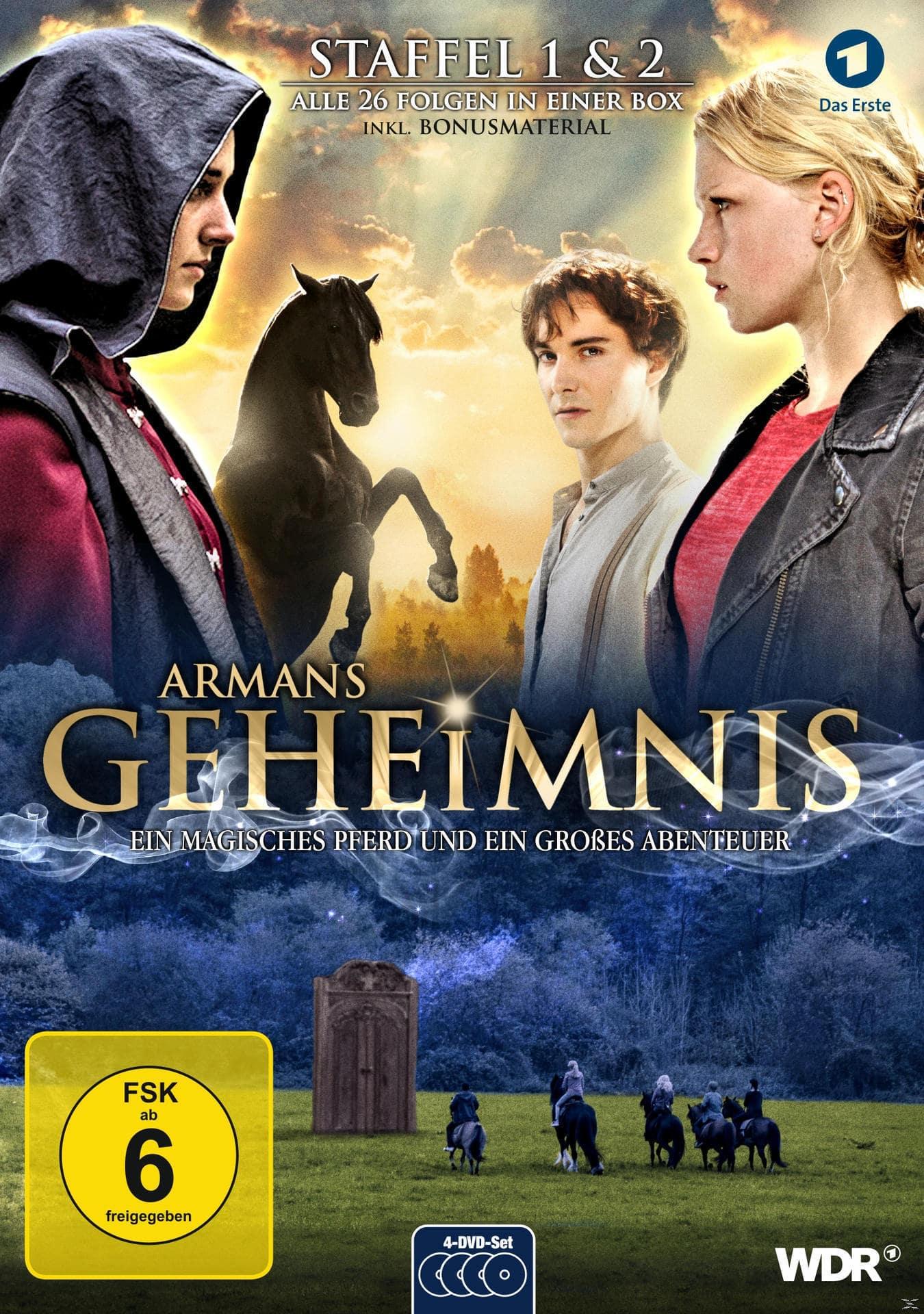 Armans Geheimnis - Staffel 1&2 - Die Collection DVD-Box (DVD) für 24,99 Euro
