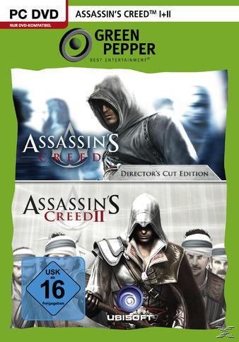 Assassin's Creed I+II (Green Pepper) (PC) für 6,99 Euro