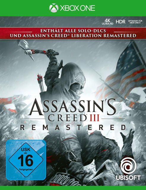 Assassin's Creed III Remastered (Xbox One) für 39,99 Euro