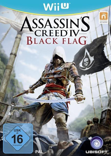 Assassin's Creed IV: Black Flag (Software Pyramide) (Nintendo Wii U) für 22,00 Euro