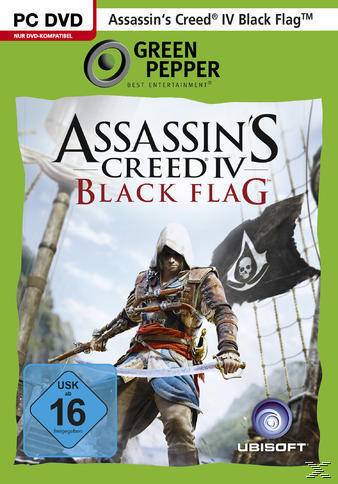 Assassin's Creed IV: Black Flag (Green Pepper) (PC) für 6,99 Euro