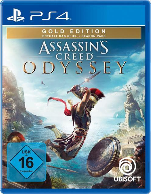 Assassin's Creed Odyssey - Gold Edition (PlayStation 4) für 49,99 Euro