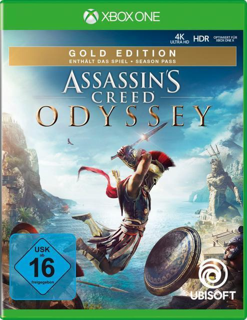Assassin's Creed Odyssey - Gold Edition (Xbox One) für 49,99 Euro