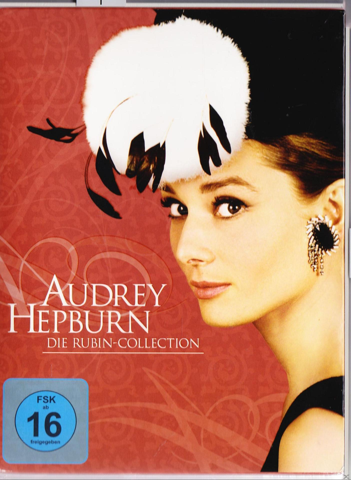 Audrey Hepburn - Die Rubin-Collection (DVD) für 34,99 Euro