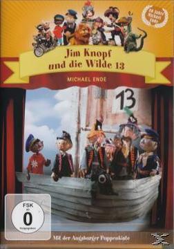 Augsburger Puppenkiste - Jim Knopf und die Wilde 13 (DVD) für 6,00 Euro