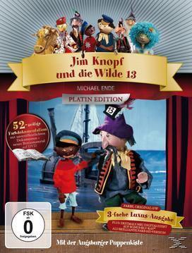 Augsburger Puppenkiste - Jim Knopf und die Wilde 13 Platinum Edition (Bluray + DVD) für 24,99 Euro