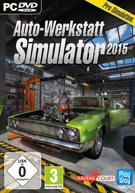 Auto-Werkstatt Simulator 2015 (PC) für 9,99 Euro
