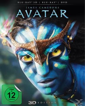 Avatar - Aufbruch nach Pandora - 2 Disc Bluray (BLU-RAY 3D + BLU-RAY + DVD) für 19,99 Euro