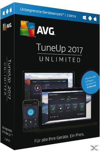 AVG TuneUp 2017 - Unlimited (PC) für 39,99 Euro