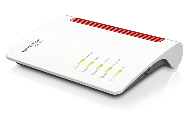 AVM FRITZ!Box 6660 Cable Wi-Fi 6 (802.11ax) Router Dual-Band (2,4 GHz/5 GHz) für 192,22 Euro