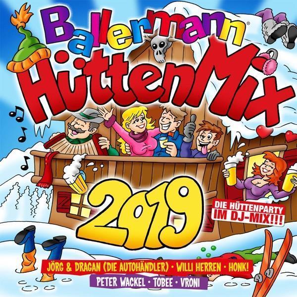 Ballermann Hütten Mix 2019 (VARIOUS) für 18,99 Euro