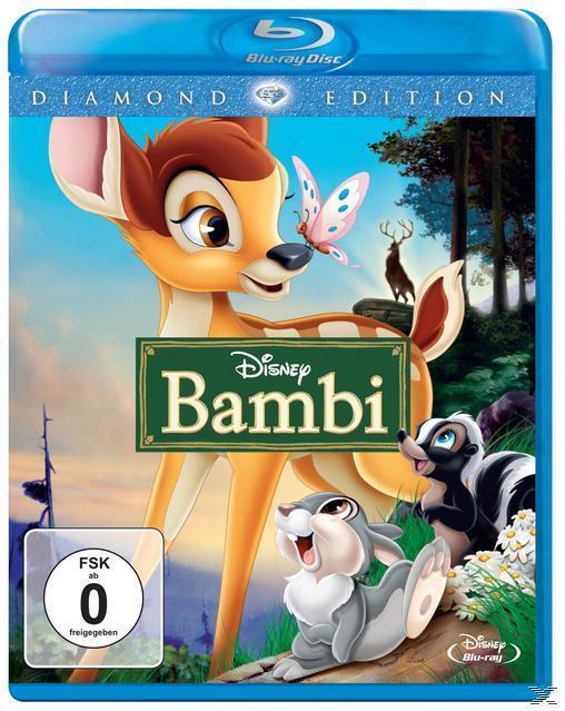 Bambi Diamond Edition (BLU-RAY) für 14,99 Euro