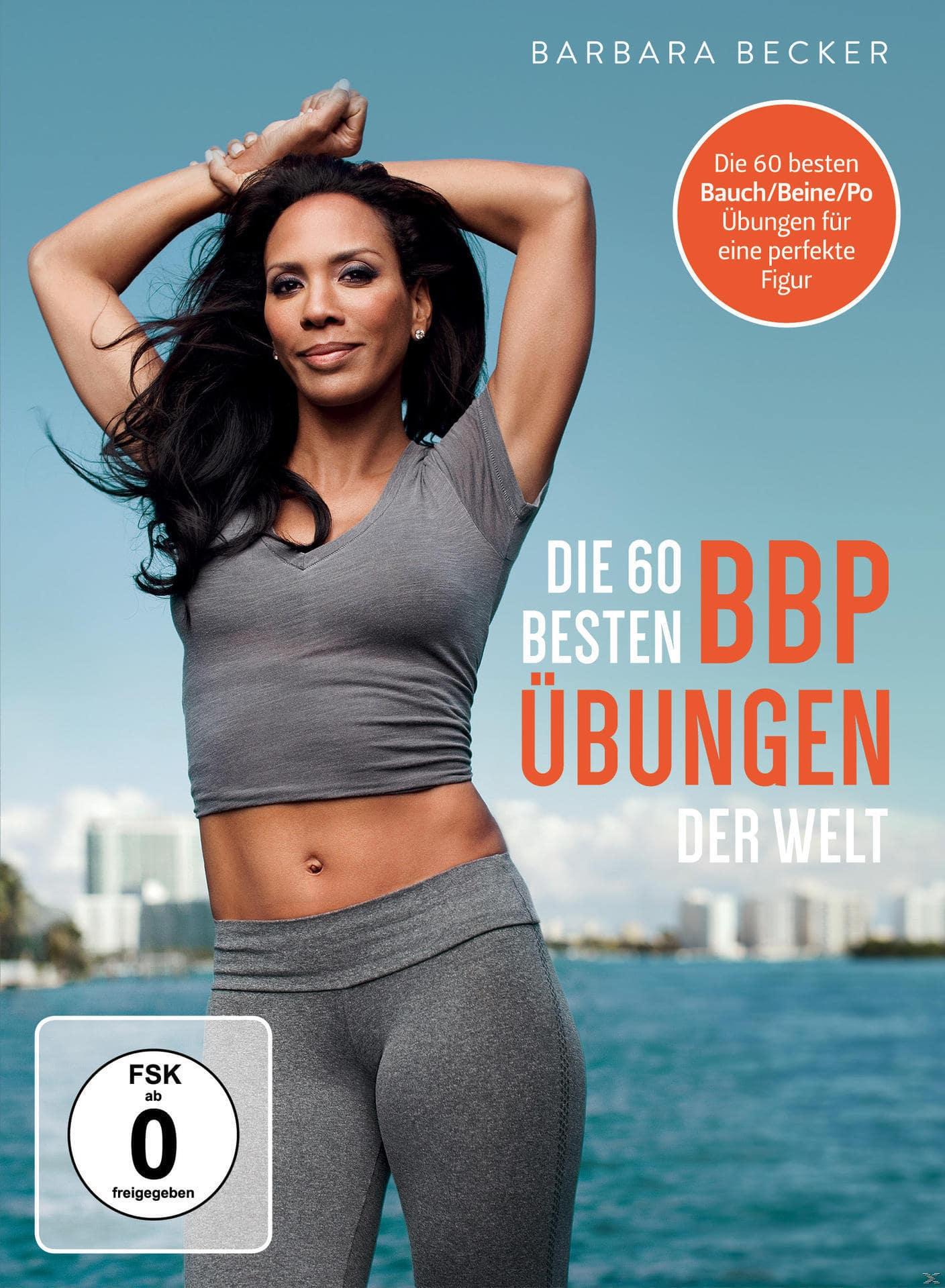 Barbara Becker - Die 60 besten Bauch Beine Po Übungen der Welt (DVD) für 21,99 Euro