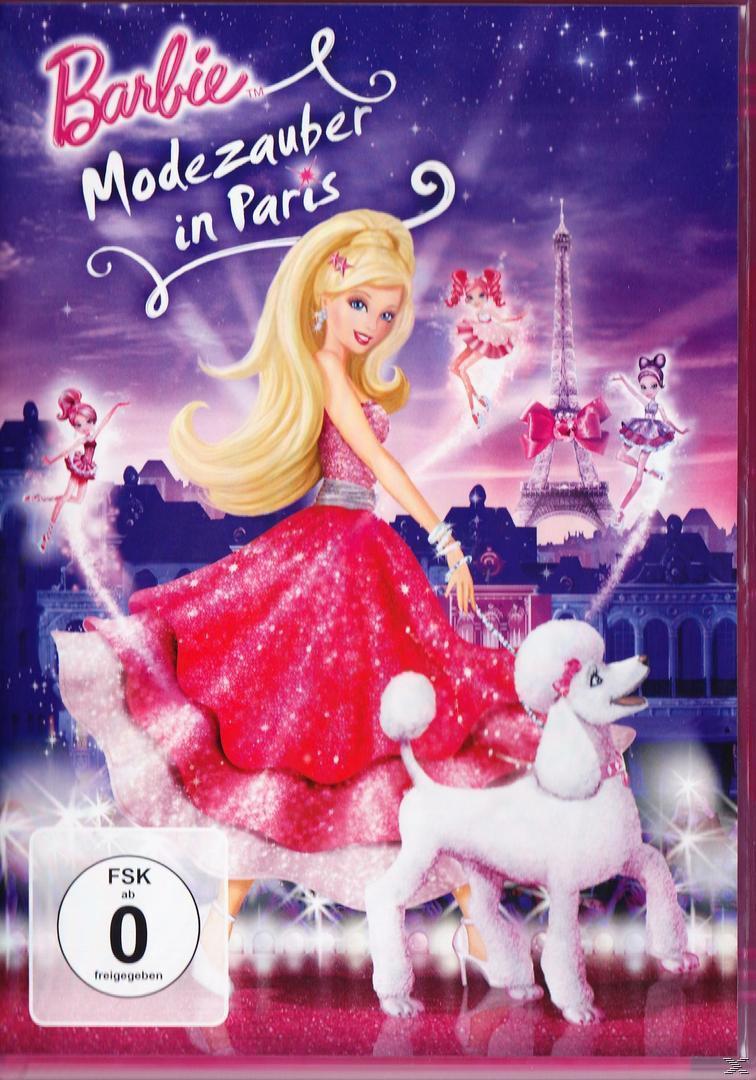Barbie - Modezauber in Paris (DVD) für 5,99 Euro