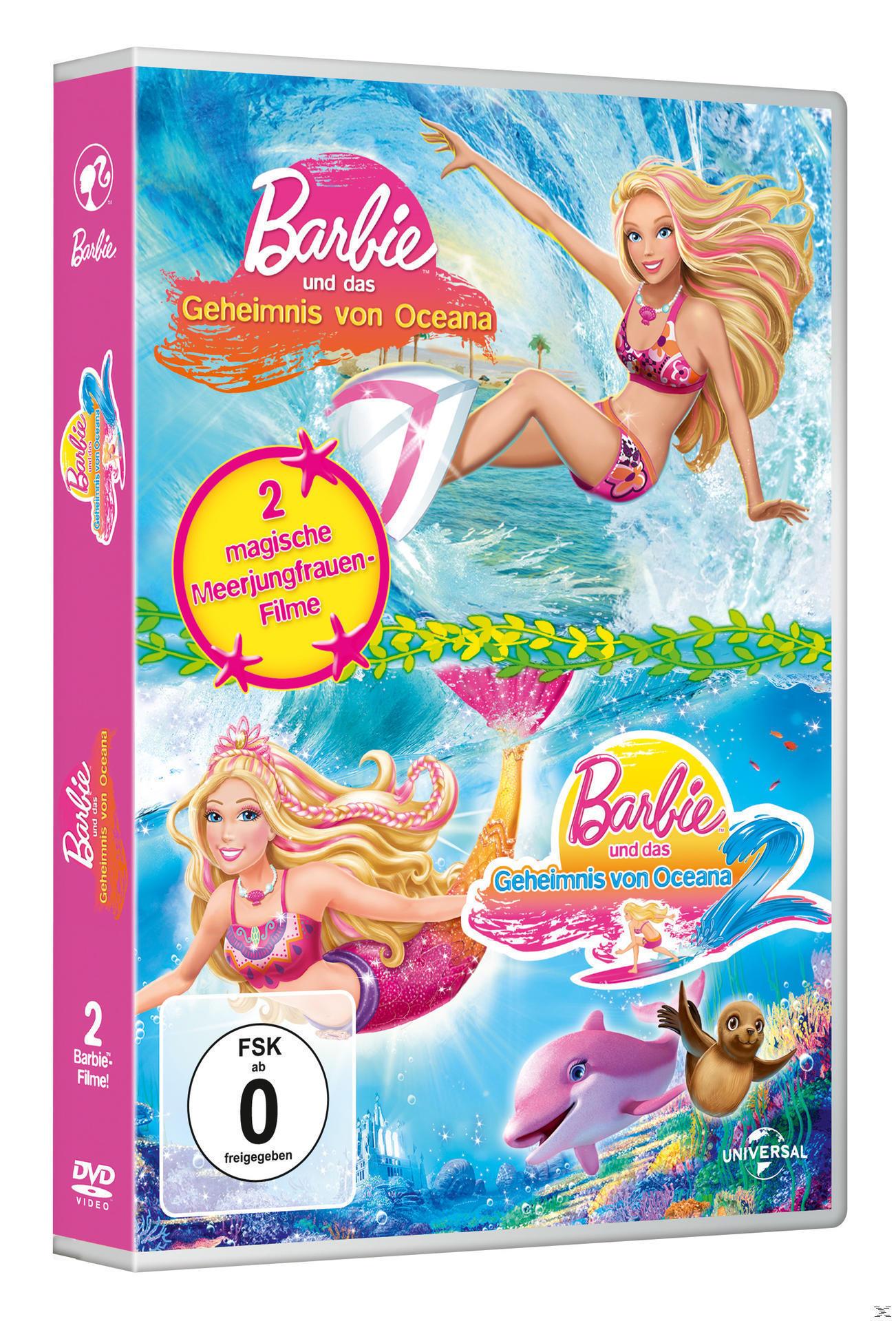 Barbie™ und das Geheimnis von Oceana 1+2 - 2 Disc DVD (DVD) für 7,49 Euro