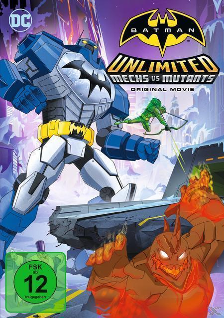 Batman Unlimited: Mechs vs. Mutants (DVD) für 7,99 Euro