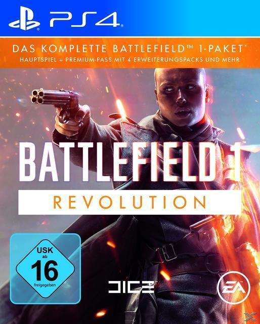 Battlefield 1 - Revolution Edition (PlayStation 4) für 19,99 Euro